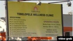 Tebelopele, Botswana. (Foto: videograb)