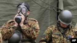 日本自卫队准备清除福岛核电厂辐射
