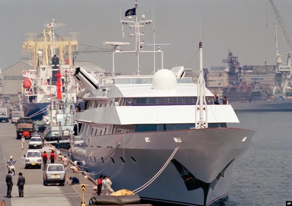 1990年4月24日,川普公主號遊艇在東京出售,要價一億1500萬美元