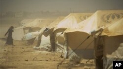 Izbjeglički logor Zataari, u Jordanu