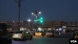 Çîrayên nav bajarê Reqa