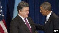 Петро Порошенко і Барак Обама (архівне фото)