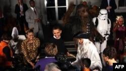 Хэллоуин в Белом доме (архивное фото)