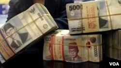 Pemerintah meminta masyarakat tidak panik atas penurunan nilai Rupiah terhadap dolar AS (foto: ilustrasi).