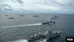 Armada Angkatan Laut Indonesia (foto: dok.).