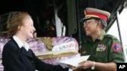 U.S. Aid Reaches Burma