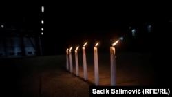 Marking the International Holocaust Remembrance Day at the Potocari Memorial Center in Srebrenica