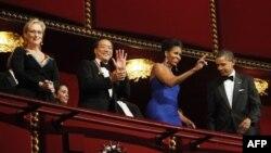 Trong số những người được vinh danh năm nay, có nghệ sĩ cello Yo-Yo Ma, nữ diễn viên Meryl Streep, ca sĩ Neil Diamond, nghệ sĩ nhạc jazz hàng đầu Sonny Rollins, và ca sĩ sân khấu Broadway Barbara Cook