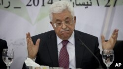"Presiden Palestina Mahmoud Abbas hari Minggu (27/4) menyatakan bahwa Holocaust adalah ""kejahatan paling keji terhadap kemanusiaan pada zaman modern."" (foto: dok)."