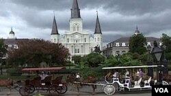 El estilo relajado de la cultura y vida de Nueva Orleans ha regresado, pero la ciudad aún lucha por recuperarse.