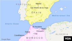 Spain and Morocco