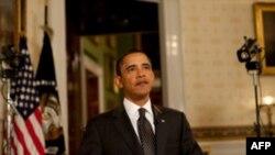 奥巴马每周例行讲话谈银行责任费