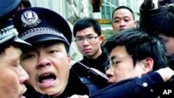 چین: جمہوریت پسند مظاہرین کے خلاف کارروائی