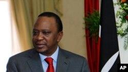 Uhuru Kenyatta (AP Photo/Thomas Mukoya, Pool)