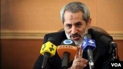 Jaksa Agung Teheran, Abbas Jafari Dolatabadi.