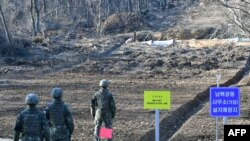 ေတာင္ႏွင့္ ေျမာက္ ကိုရီးယား Demilitarized Zone (DMZ) ေနရာ