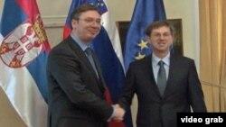 Premijeri Srbije i Slovenije danas na Brdu kod Kranja