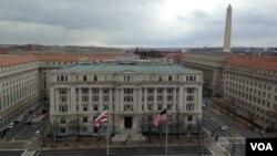 华盛顿市政府楼(资料照)