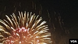 Americans Mark July 4 With Fireworks