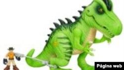 Los juguetes de Jurassic World eran fabricados hasta ahora por Hasbro, rival de Mattel.