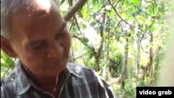 63歲的裴里福有農莊碩果,但面臨搬遷