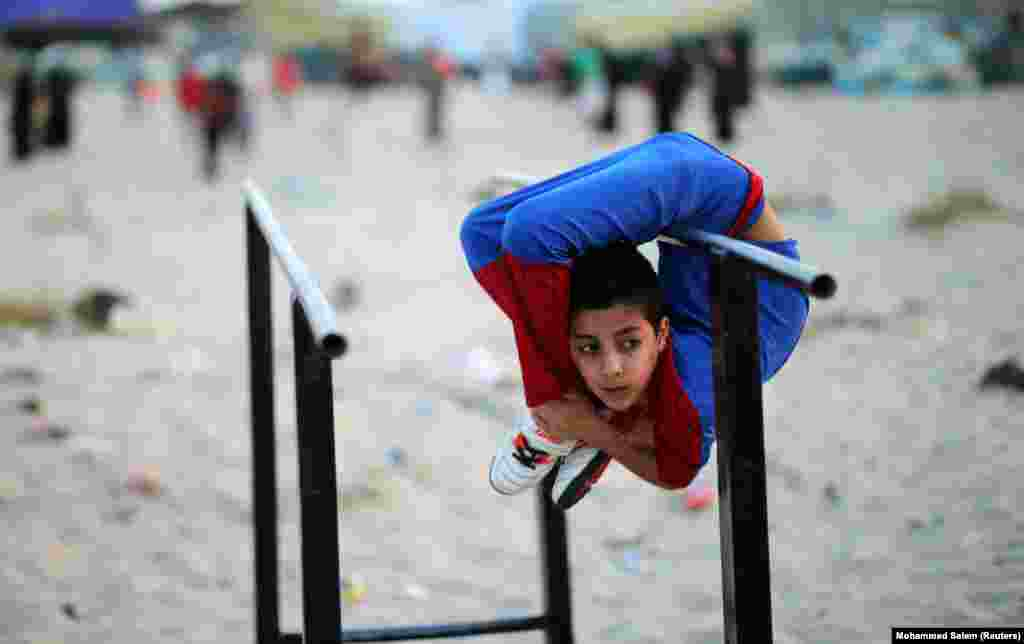 """Spiderman"" palestiniano"