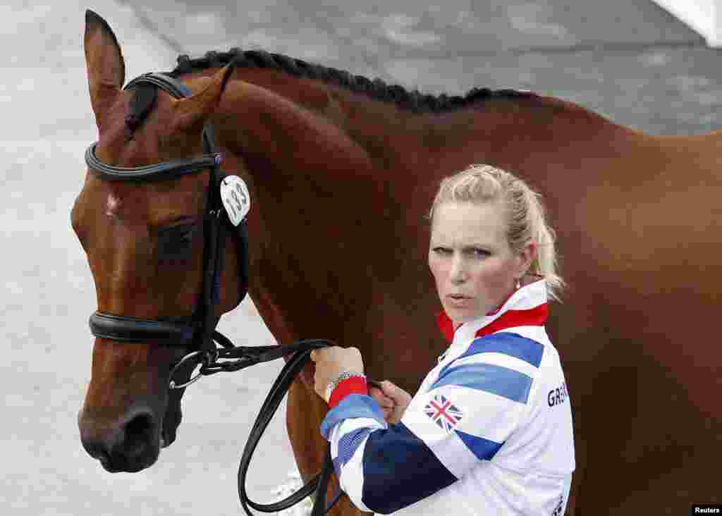 Британская спортсменка Зара Филлипс