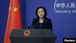 Hua Chunying, porta-voz do Ministério dos Negócios Estrangeiros da China