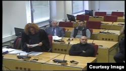 Maksim Božić i Edin Hastor u sudnici Suda BiH