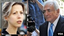 """La periodista Tristane Banon también ha demandado en Francia a Strauss-Kahn por """"intento de violación""""."""