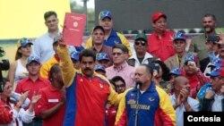 Ông Maduro đã yêu cầu được trao thêm quyền hạn sau khi Mỹ áp đặt các biện pháp chế tài đối với một số quan chức Venezuela bị cáo buộc vi phạm nhân quyền.