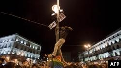 Protesti u Španiji zbog velike nezaposlenosti i mera štednje, 18. maj, 2011.