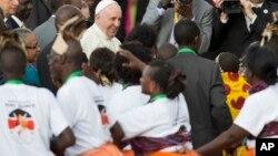 Kenya Pope Africa