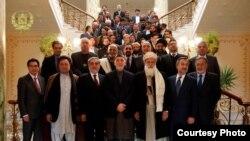 نامزدان ریاست جمهوری خواستار عدم مداخله مقام های دولتی در امور انتخابات شدند (عکس از ریاست جمهوری افغانستان)