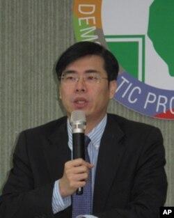 台湾民进党中央发言人陈其迈
