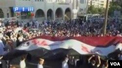 """Los activistas dicen que están protestando bajo el lema de """"preferible la muerte antes que la humillación""""."""