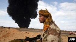 Libya'da Amerikan Uçağı Düştü