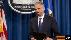 Jaksa Agung Amerika Eric Holder khawatir meningkatnya kematian akibat heroin sebagai krisis kesehatan publik di AS (foto: dok).
