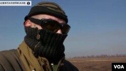 烏克蘭反政府軍的指揮官薩沙。