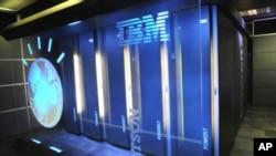Esta foto proporcionada por IBM muestra el sistema de computadoras del grupo Watson