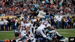 Denver defeated Carolina in last season's Super Bowl.