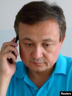 流亡德国的维吾尔族活动人士多力坤·艾沙