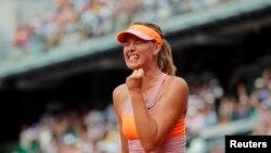 Maria Sharapova , en demi-finale de l'Open d'Australie (Reuters)