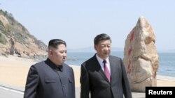 中國國家主席習近平2018年5月7日到8日在中國大連會晤朝鮮領導人金正恩。這是金正恩在不到兩個月的時間內第二次秘密中國之行。
