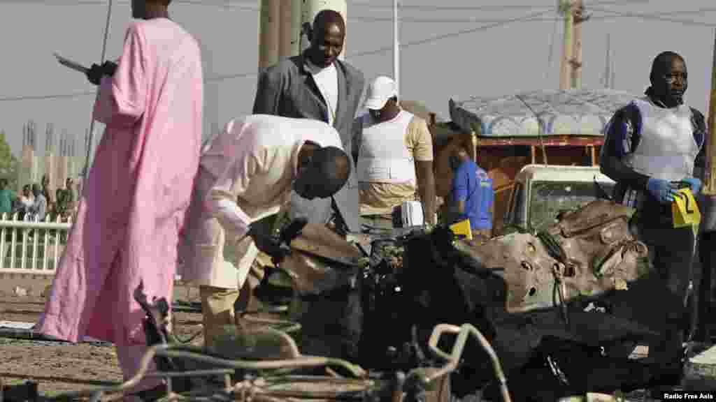 Mutane 6 sun rasu a wata fashewa a Kano, Nuwamba 15, 2014