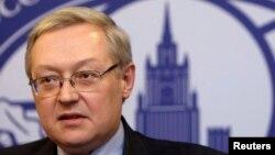 세르게이 랴브코프 러시아 외무부 차관. (자료사진)