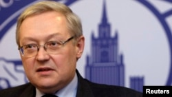نائب روسی وزیرخارجہ ریابکوف