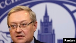 俄罗斯副外长里亚布科夫(资料照)