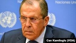 Sergei Lavrov ministan harkokin wajen kasar Rasha
