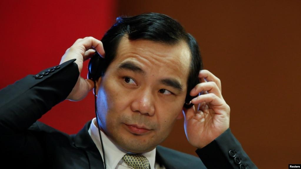 安邦公司董事�L�切��在北京�⒓又���l扎������h(2017年3月18日)